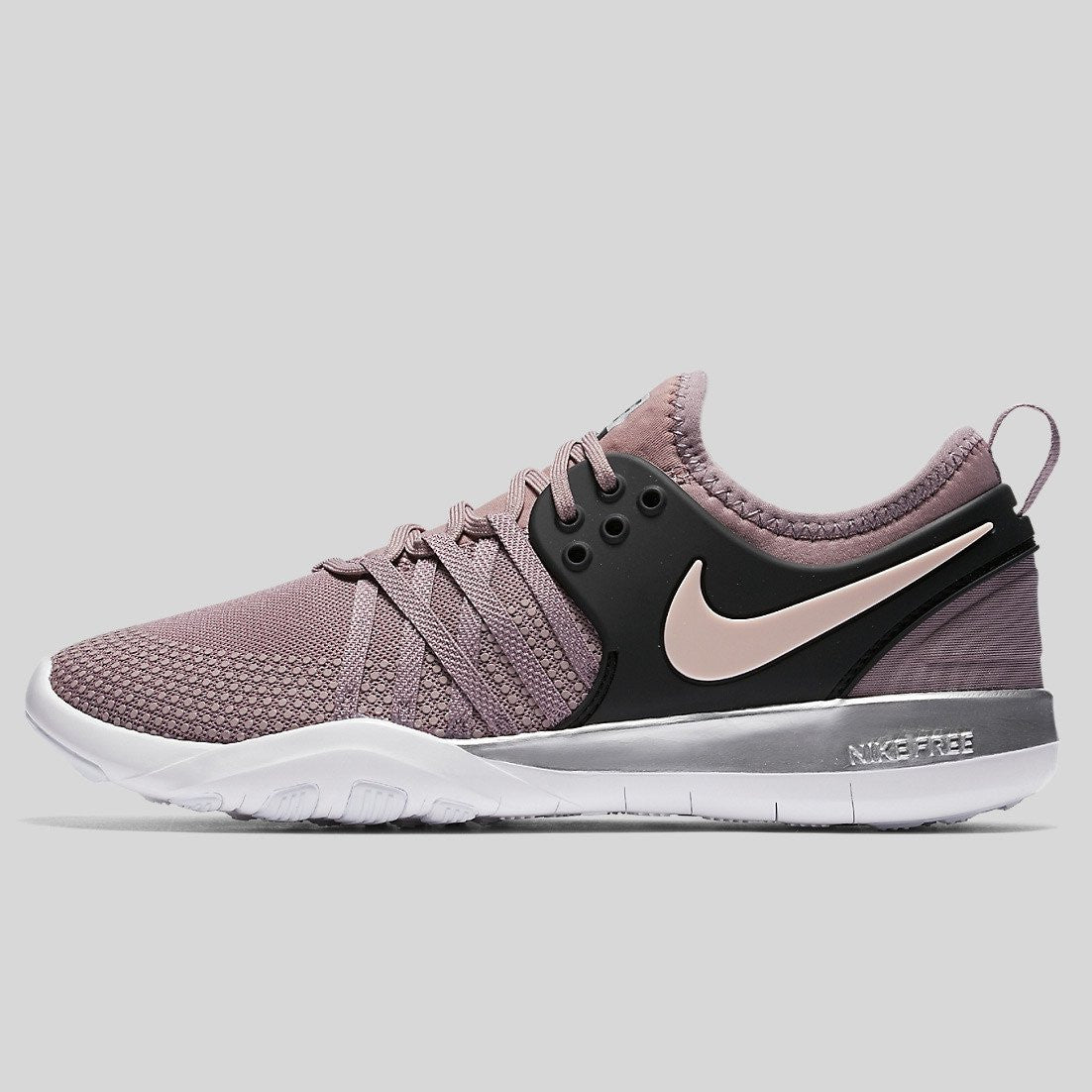 finest selection f58de 33111 Nike Wmns Free TR 7 Bionic Taupe Grey Black Sunset Tint (921061-200)