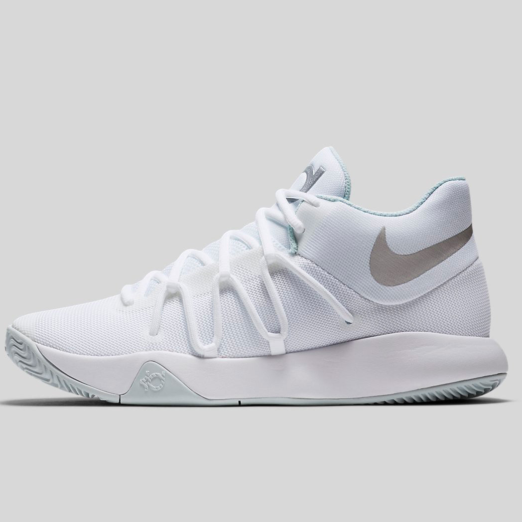 bf6881f61c00 Nike KD Trey 5 V EP White Chrome Pure Platinum (921540-100)