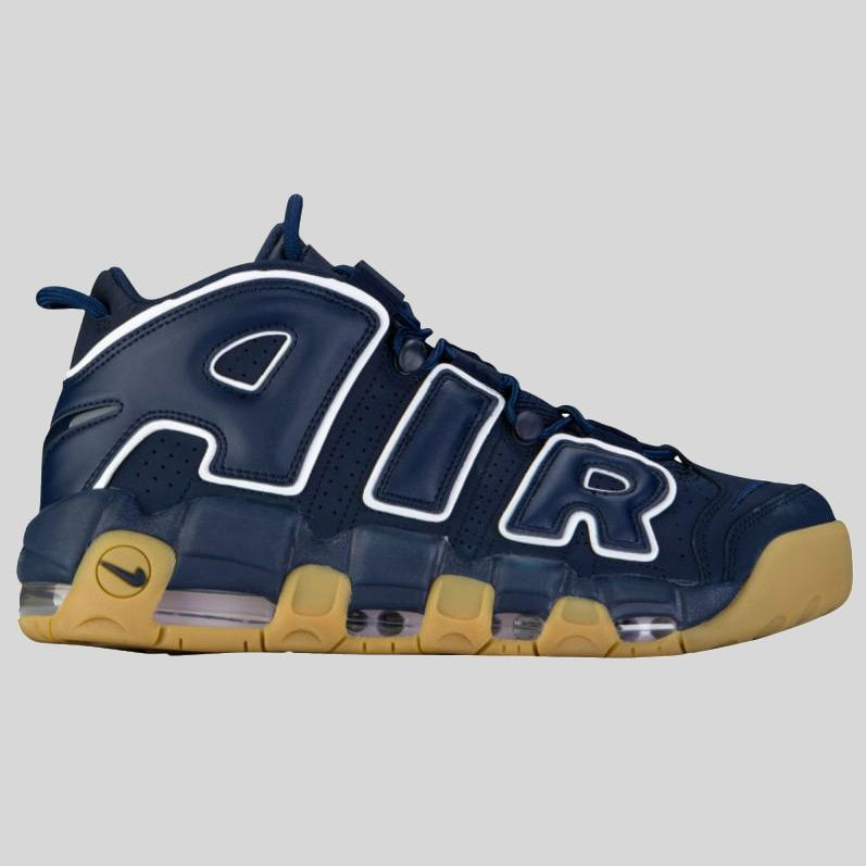 Nike AIR MORE UPTEMPO 96 Obsidian Obsidian-White (921948-400)  c98a5cd997ee