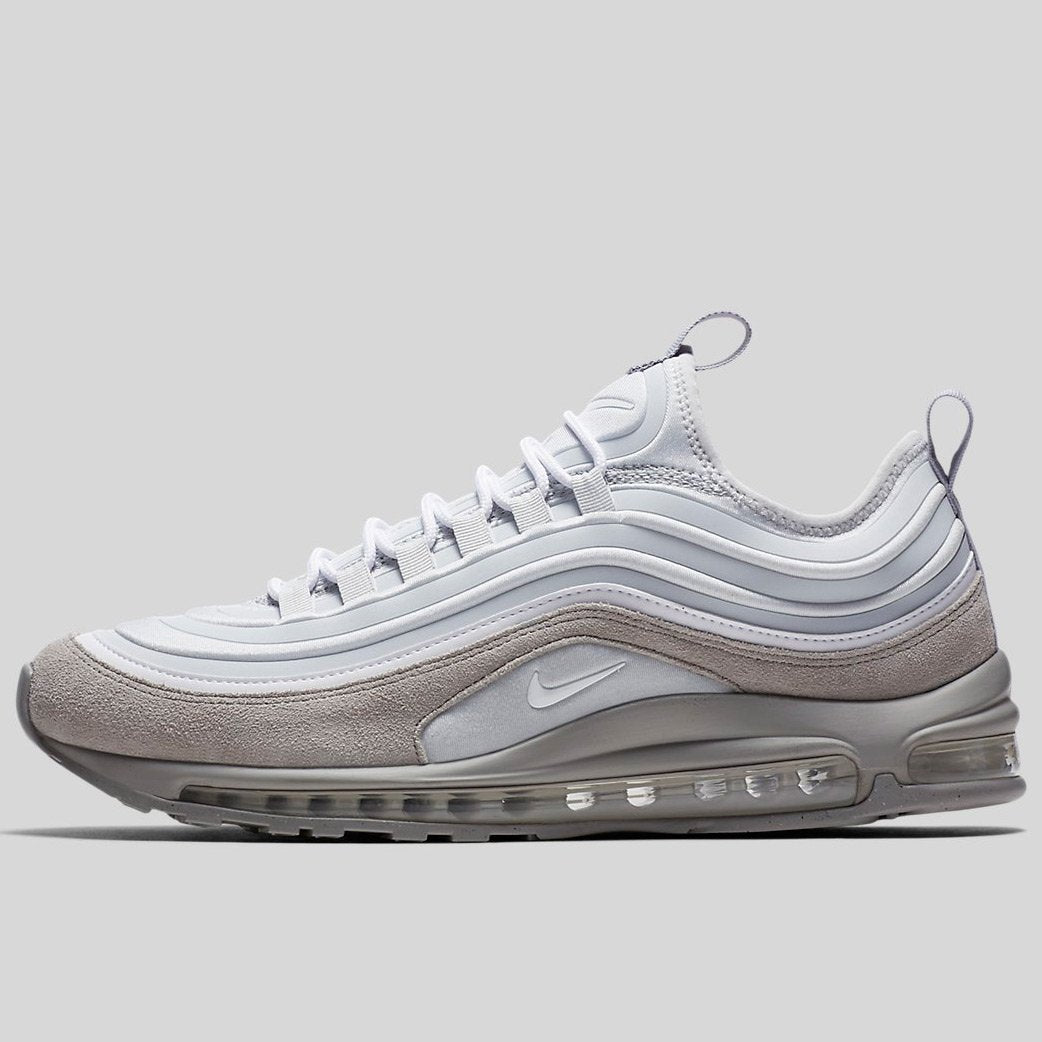 brand new ba07d 3b97f Nike Air Max 97 Ul  17 Se Pure Platinum White-Wolf Grey (924452