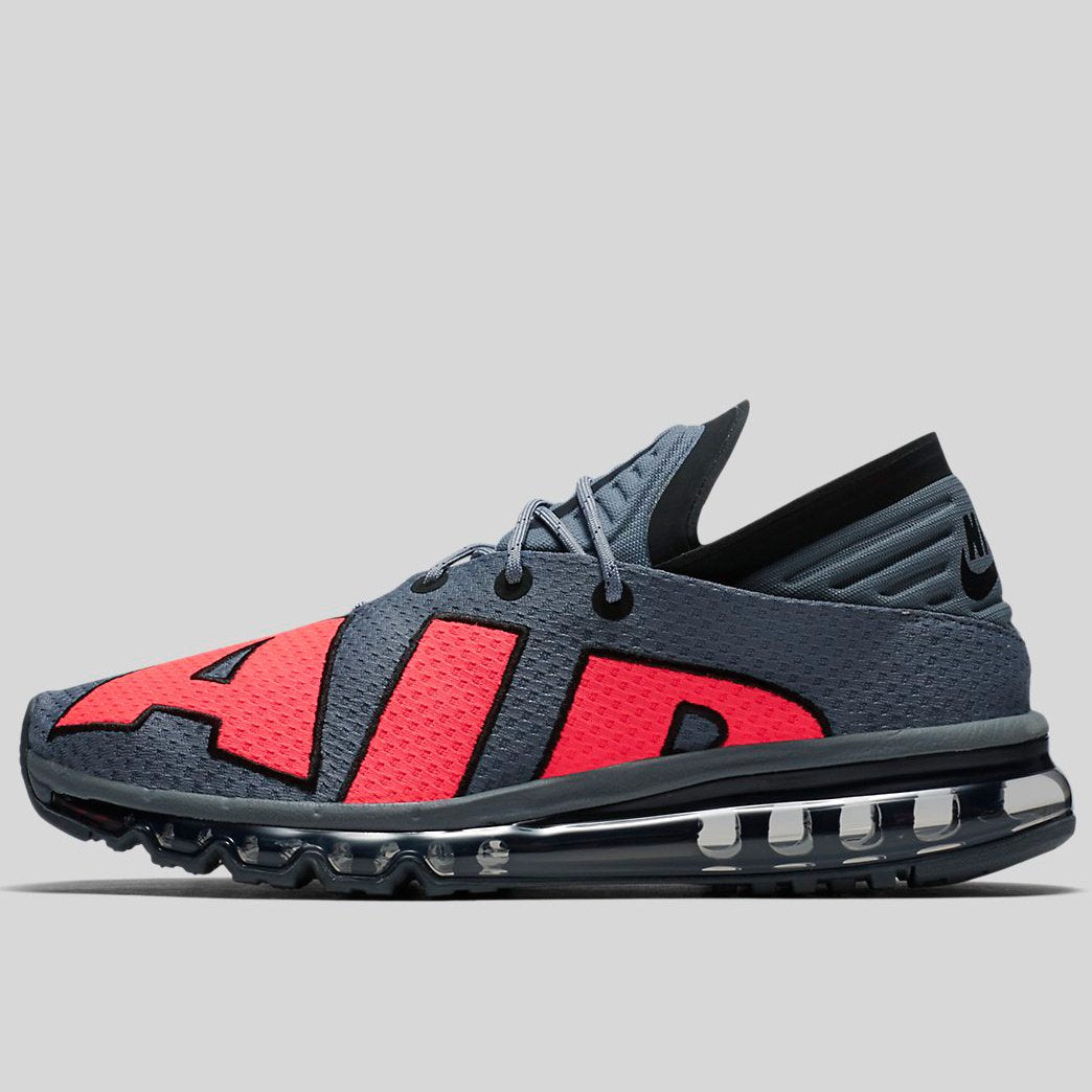 the latest 53be9 0c1bc Nike Air Max Flair Cool Grey Solar Red-Black-Pure Platinum (942236-