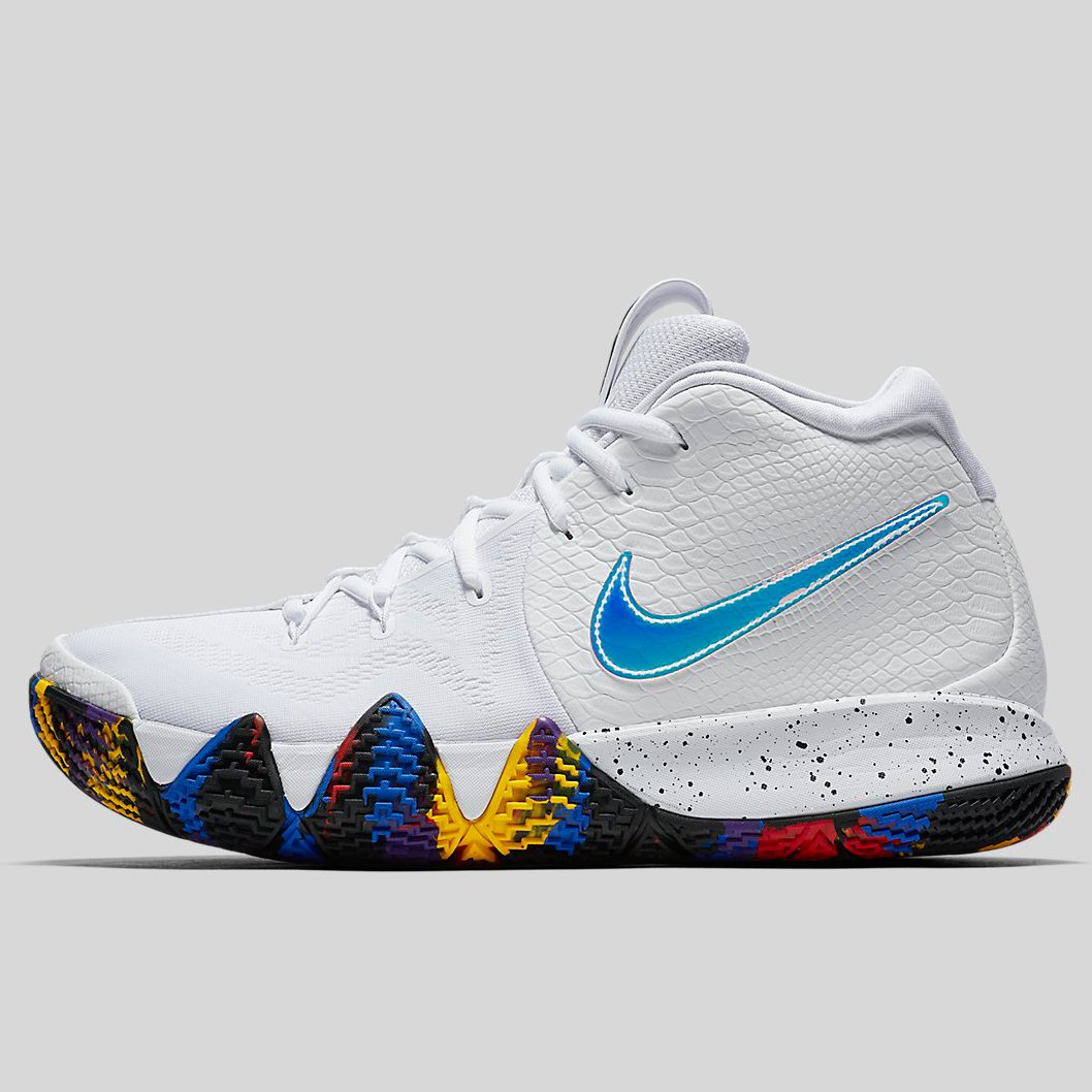 Nike KYRIE 4 EP white multi-color