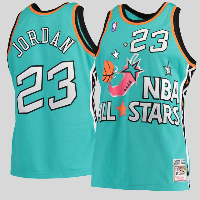 premium selection bdabf f725f michael jordan 1996 authentic jersey nba all star  mitchell and ness michael  jordan 1996 all star authentic jersey