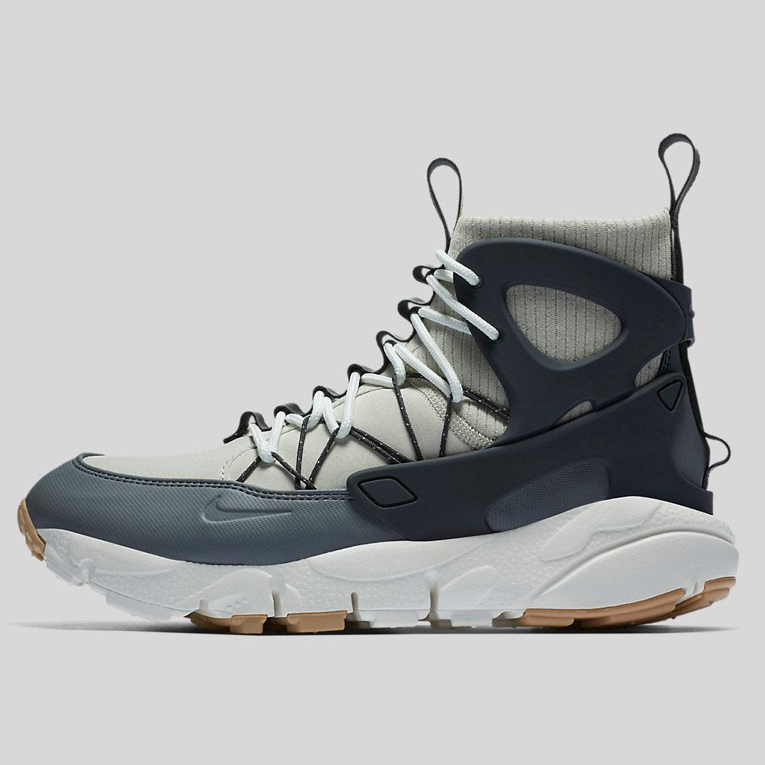 Nike W Air Footscape Mid Light Bone/ Anthracite