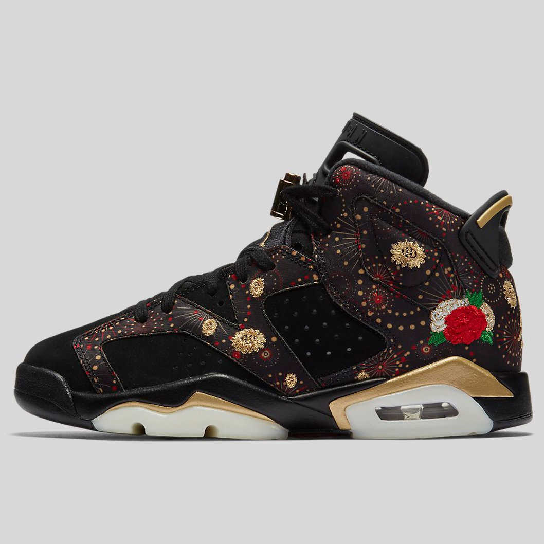 c5b224a2da4fa0 ... Nike AIR JORDAN 6 RETRO CNY BG Black Metallic Gold Multi Color (AA2495- 021 . ...