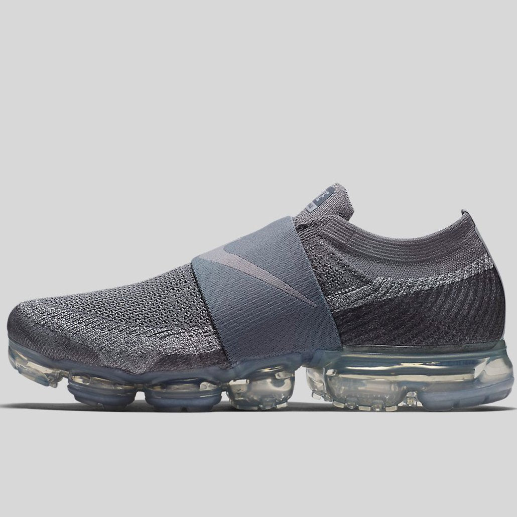Nike AIR VAPORMAX FLYKNIT MOC Cool Grey Wolf Grey Hot Punch White