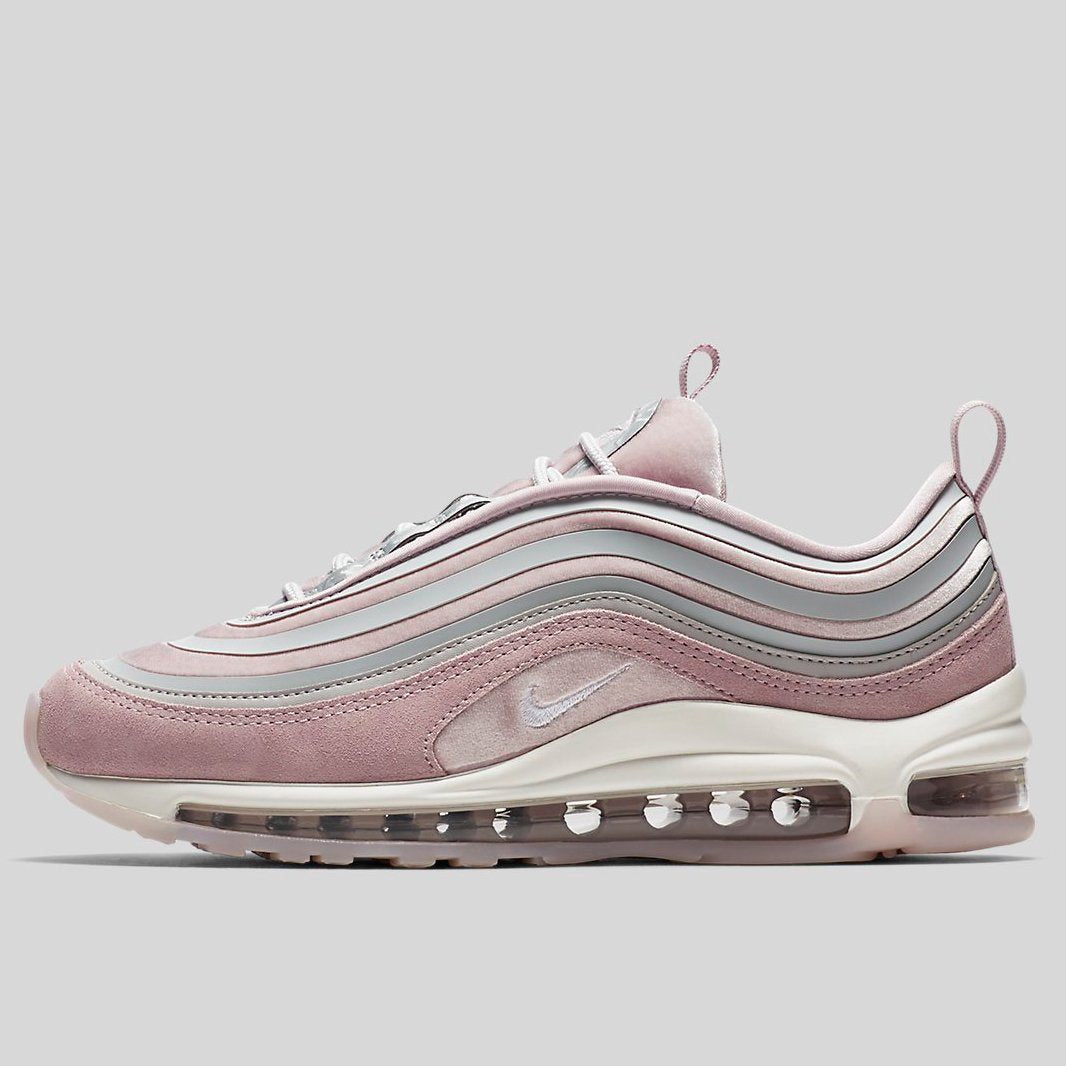 Nike Wmns AIR MAX 97 UL 17 LX Vast Grey Summit White Particle Rose ... 951655ed0