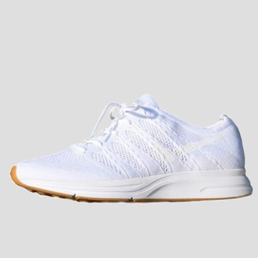 a75823c6eff3 Nike FLYKNIT TRAINER White White-White-Gum Light Brown (AH8396-102 ...