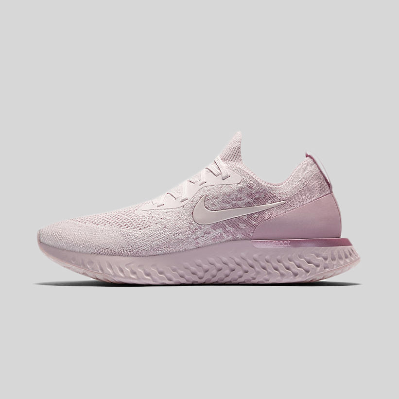 BRAND NEW Nike Epic React Flyknit Pearl Pink Barely Rose AQ0067-600