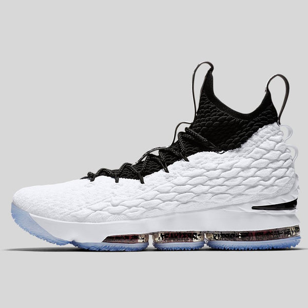 756c7c5a0cc Nike LEBRON XV EP white black-black-university red (AQ2364-100 ...