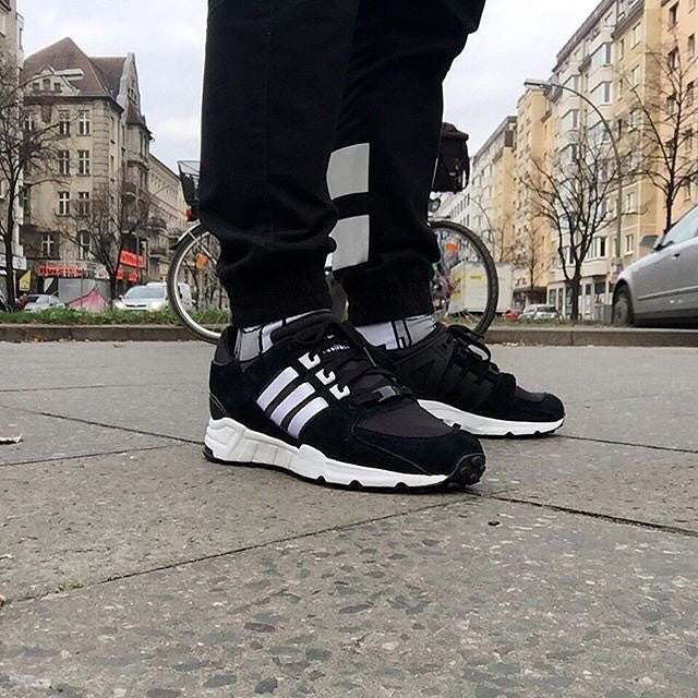 adidas EQT Support 93/16 Shoes Black adidas UK