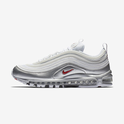 Nike Air Max 97 QS Metallic Pack WHITE VARSITY RED-METALLIC SILVER-BLACK 6518435f5