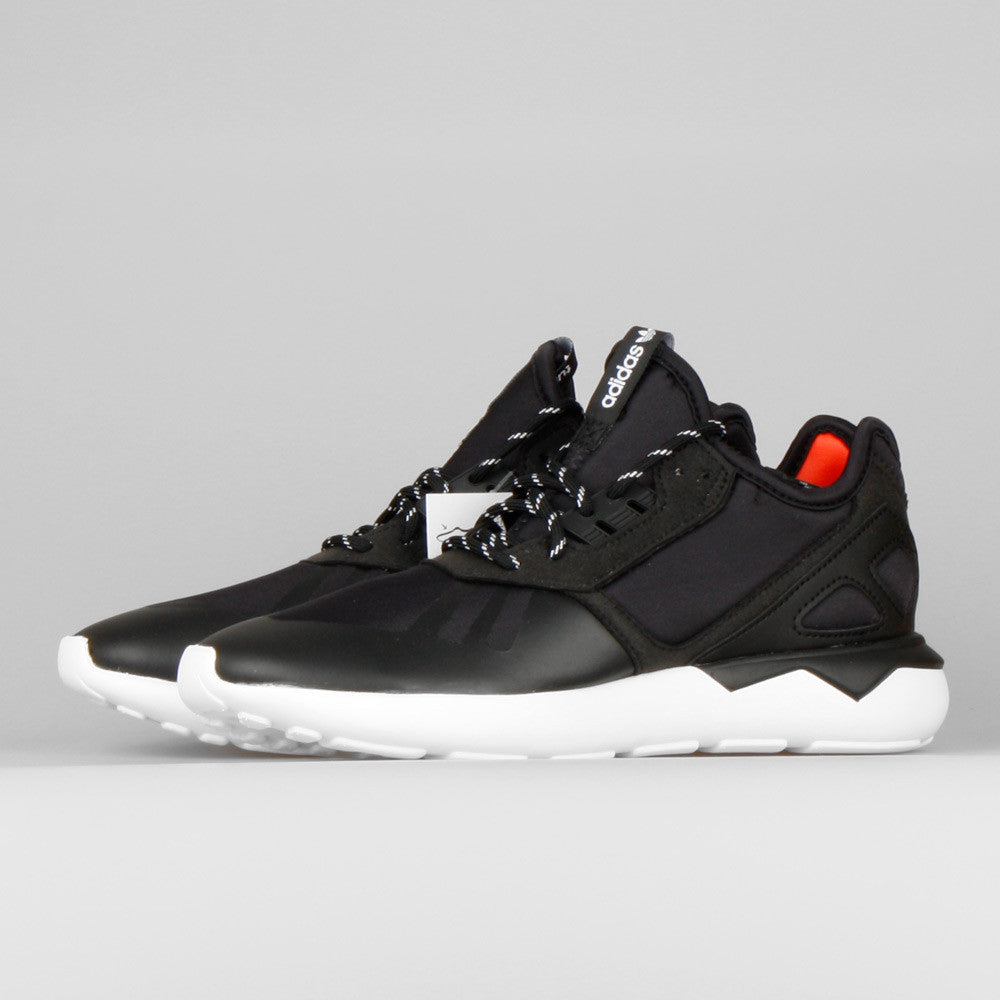 Adidas Tubular Defiant RO TF Leather in Black Getoutsideshoes