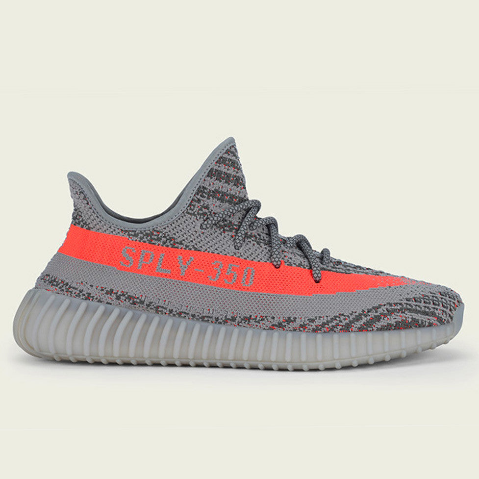 adidas Yeezy Boost 350 V2 Steel Grey Beluga Solar Red