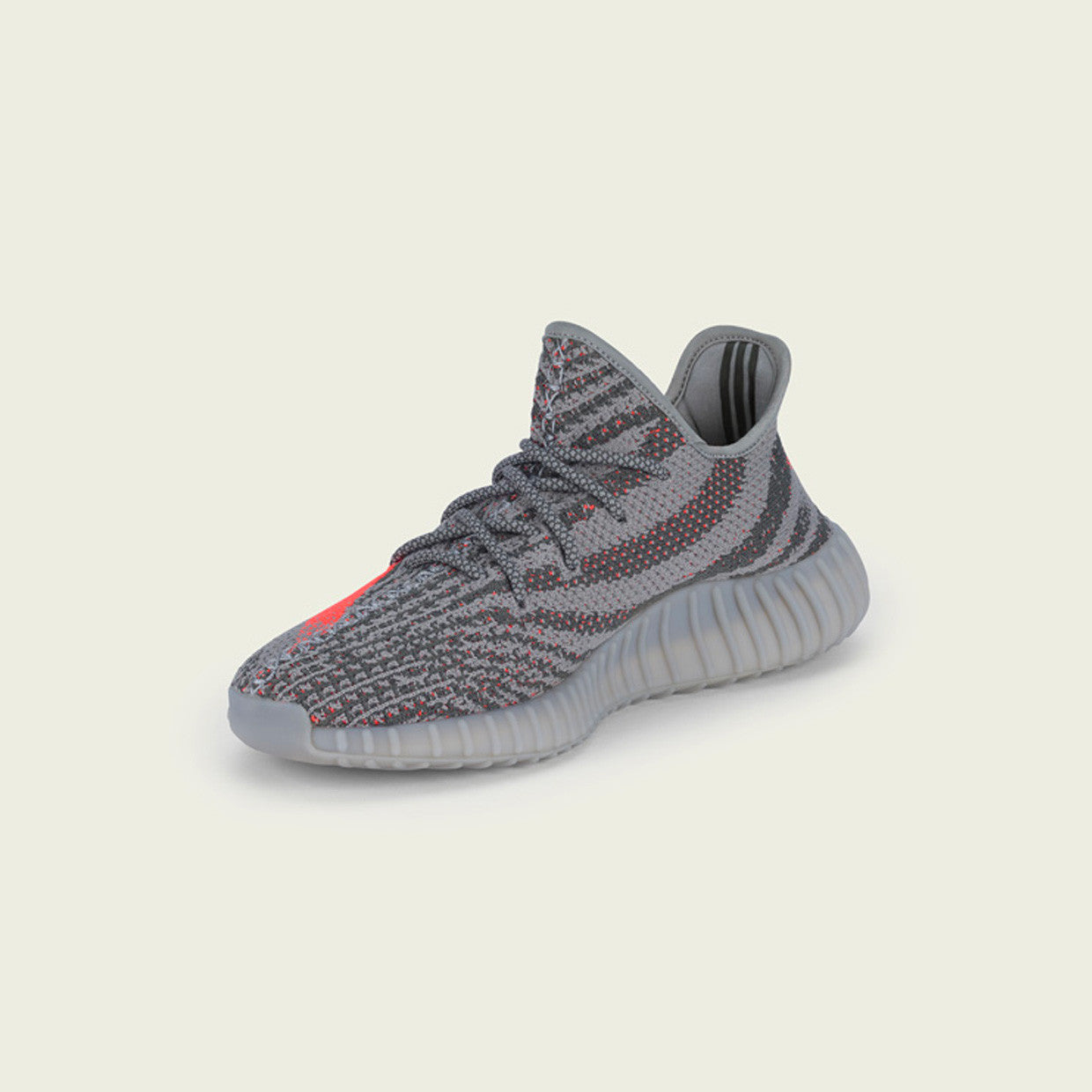 save off ea953 10818 adidas Yeezy Boost 350 V2 Steel Grey Beluga Solar Red