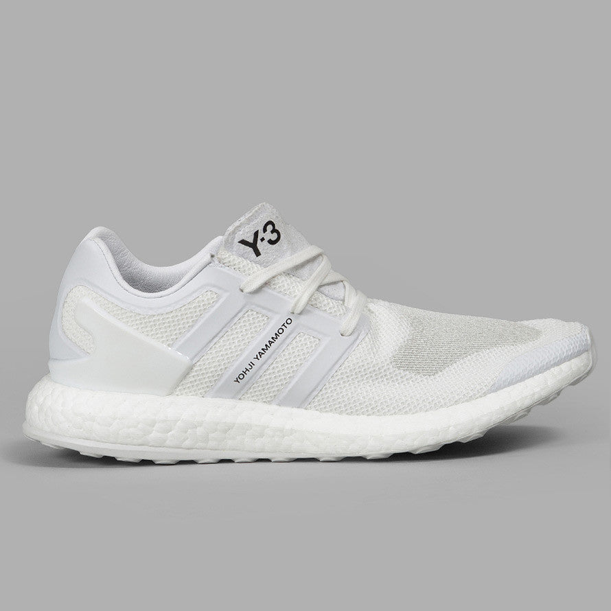 13d30917f adidas Y-3 Pure Boost Triple White (BY8955)