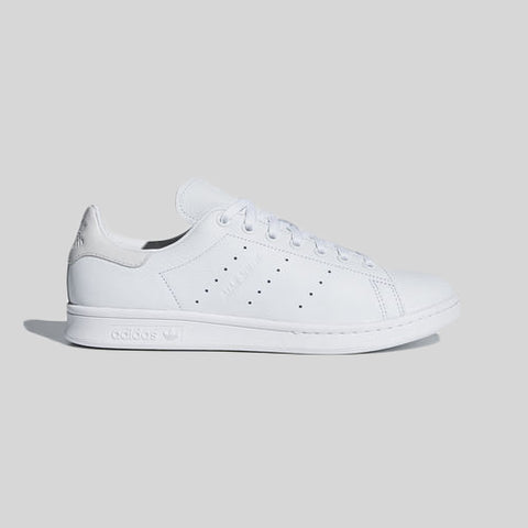 07b36b110 adidas Originals Stan Smith All White Leather 2018