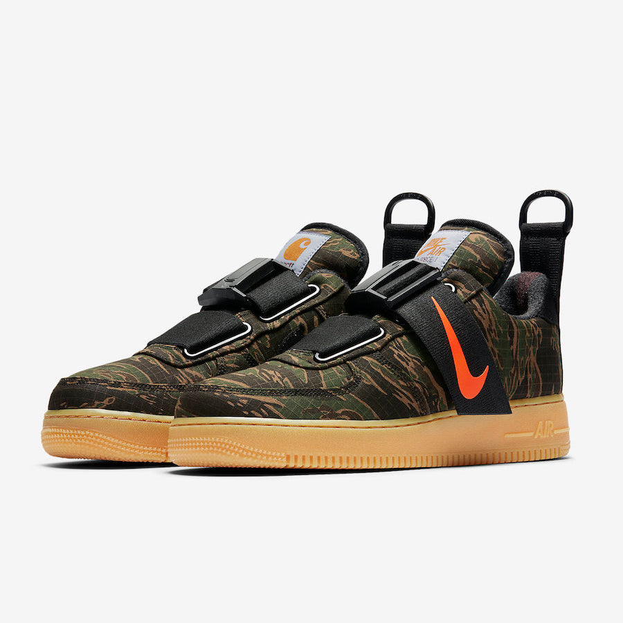 11eac5145a9f2 Nike x Carhartt WIP AIR FORCE 1 UT LOW PRM (AV4112-300) (AV4112-300 ...