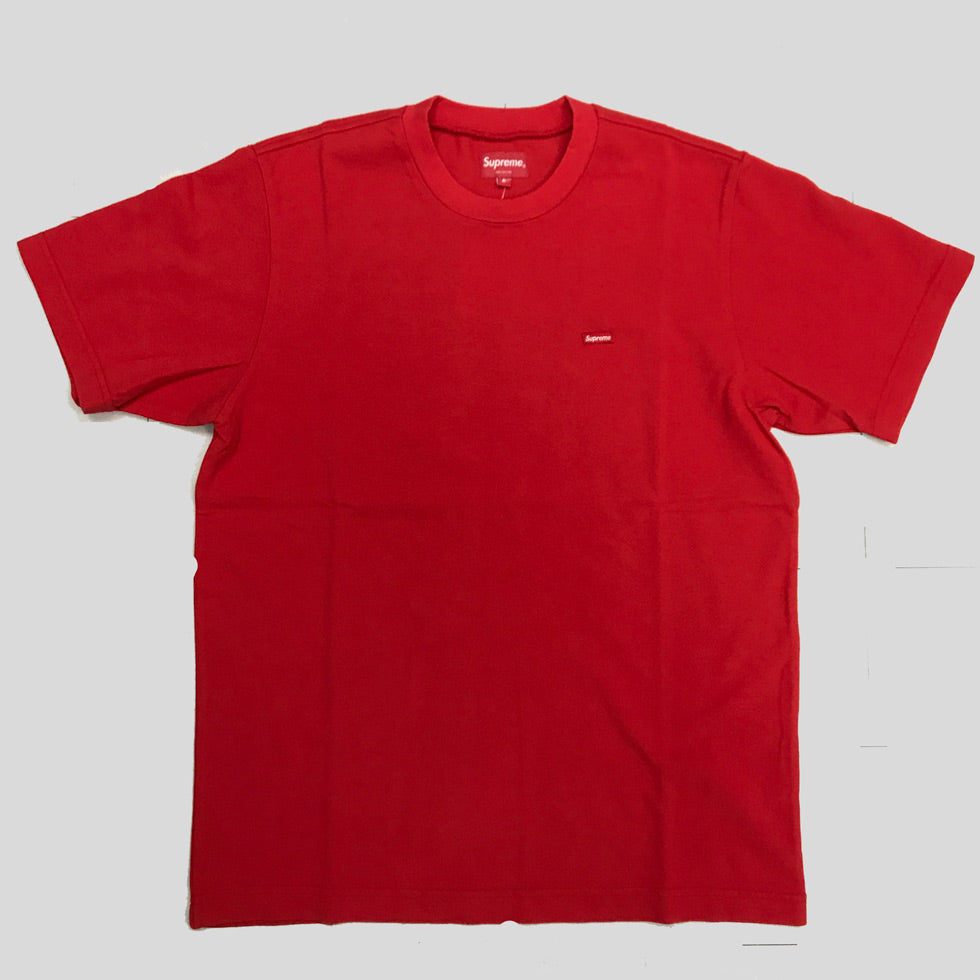 supreme red box tee