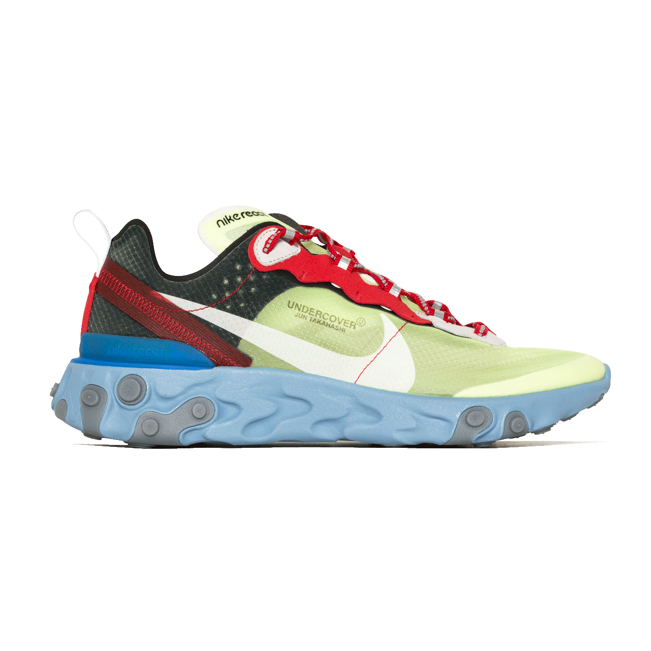 online store 82850 22501 NIKE X UNDERCOVER REACT ELEMENT 87 VOLT UNIVERSITY RED-BLACK-WHITE (BQ ( BQ2718-700)   KIX-FILES