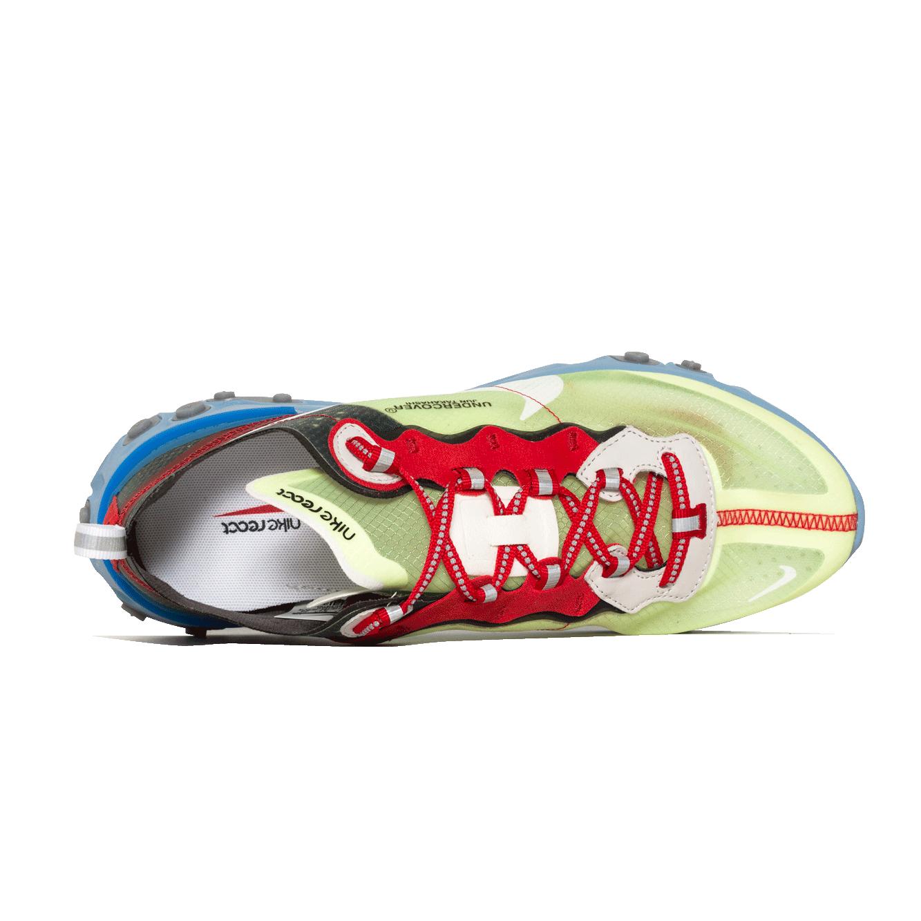 online store 74946 64be5 NIKE X UNDERCOVER REACT ELEMENT 87 VOLT UNIVERSITY RED-BLACK-WHITE (BQ2718- 700)