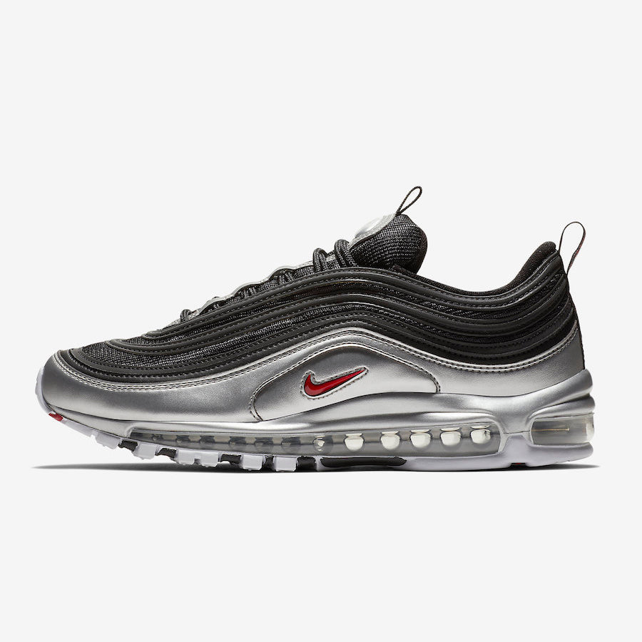 competitive price 603f1 19b4e Nike Air Max 97 QS Metallic Pack BLACK VARSITY RED-METALLIC SILVER-WHITE ( AT5458-001)