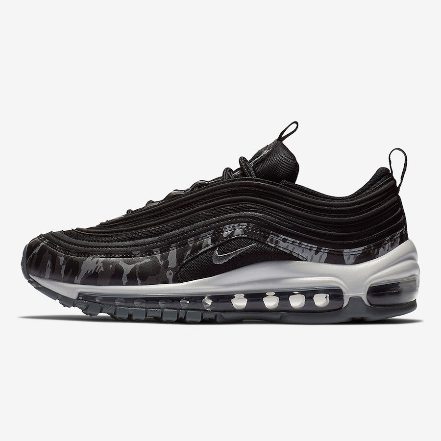 Nike Wmns AIR MAX 97 PRM BLACKCOOL GREY BLACK SUMMIT WHITE (917646 005)