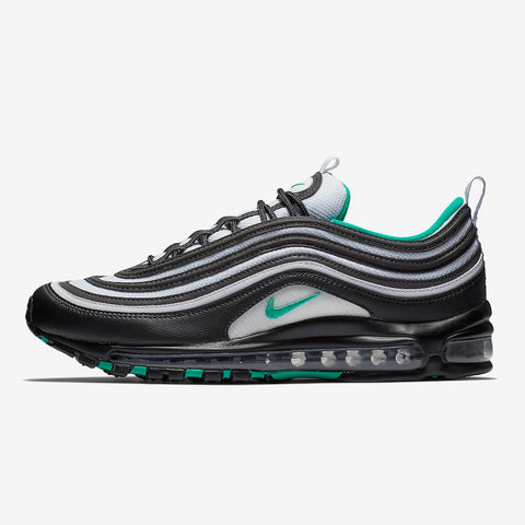 Nike Air Max 97 BLACK CLEAR EMERALD-WHITE (921826-013) 336520a7d