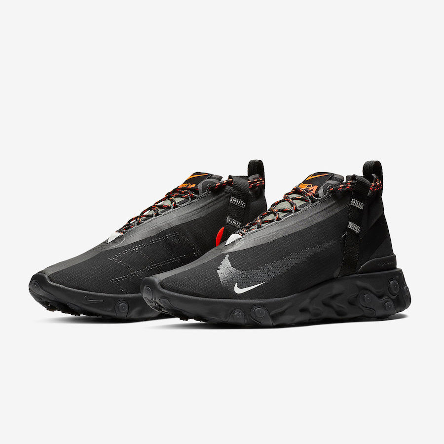 Horizontal manual radio  Nike REACT RUNNER MID WR ISPA BLACK/WHITE-ANTHRACITE-TOTAL CRIMSON (AT  (AT3143-001) | KIX-FILES