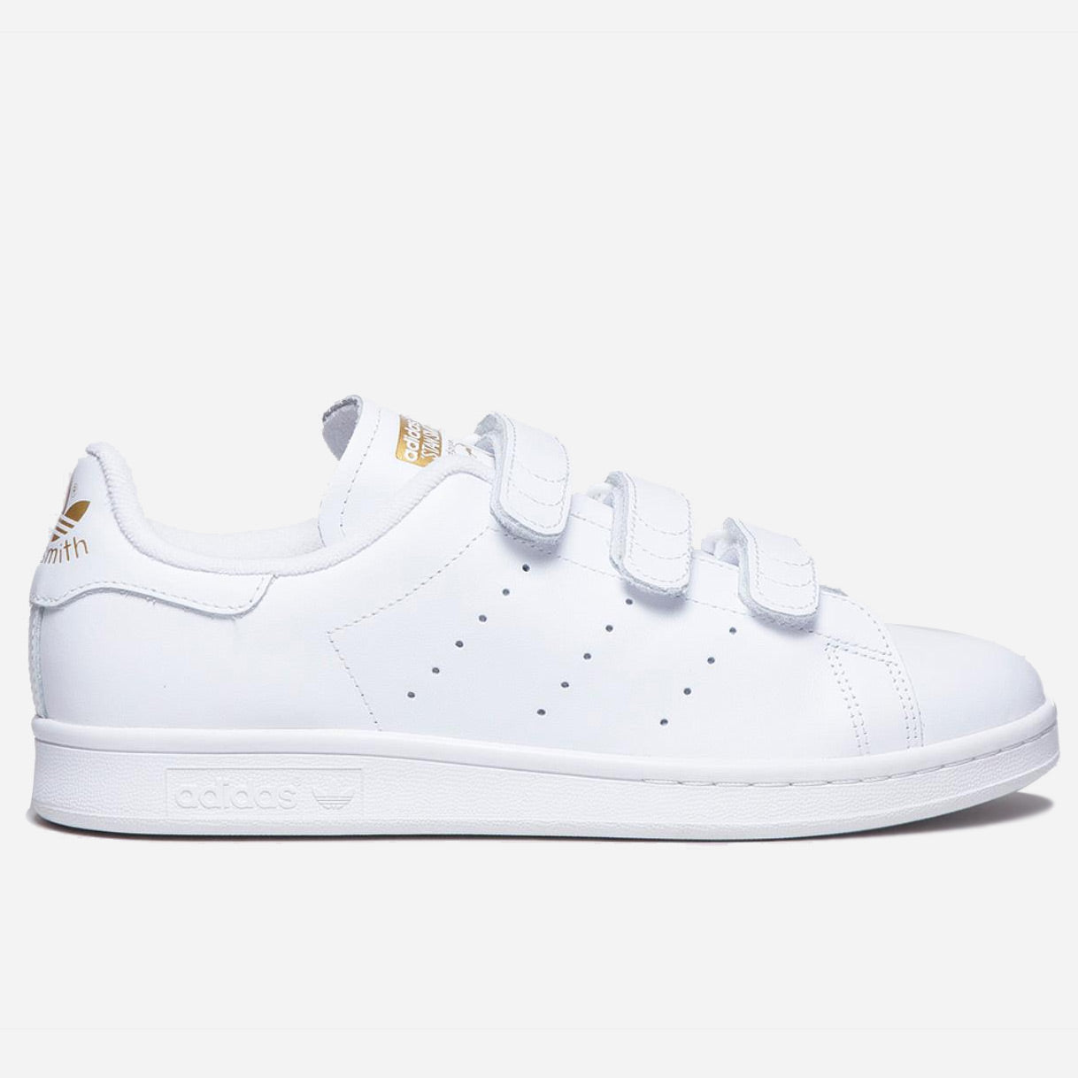 reputable site fbf83 b1f45 adidas Stan Smith CF White Gold Metal