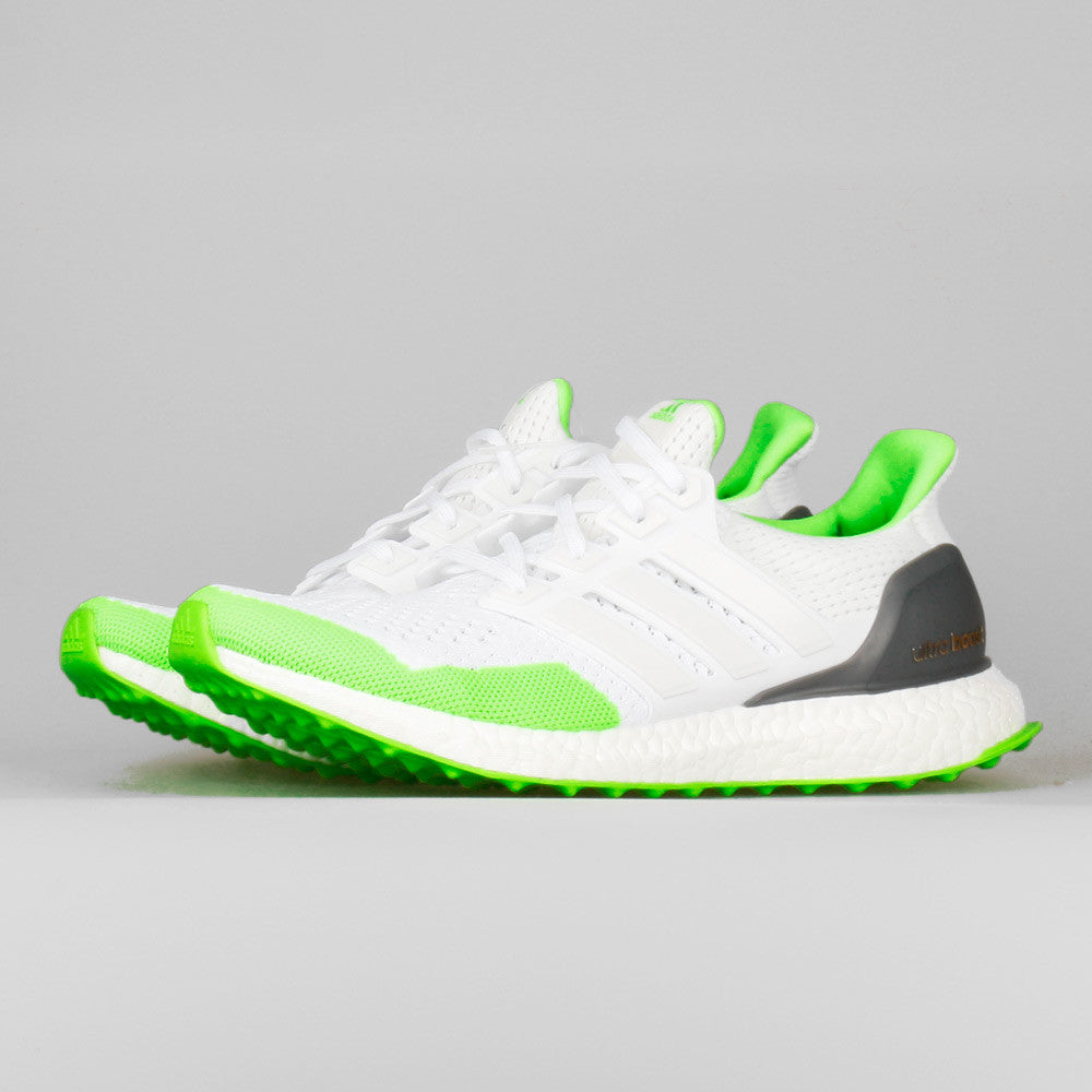 14151f1ca Kolor x adidas Ultra Boost White Solar Green. Item Number  S77419
