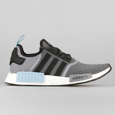 ce5a9ca96ee41 adidas NMD Runner Black Clear Blue