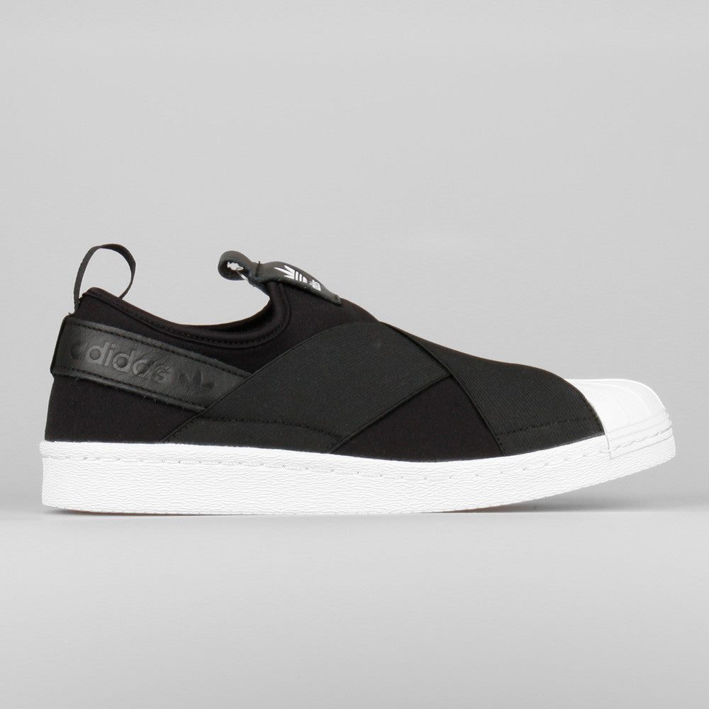 adidas Superstar Slip On W Black (S81337) | KIX-FILES