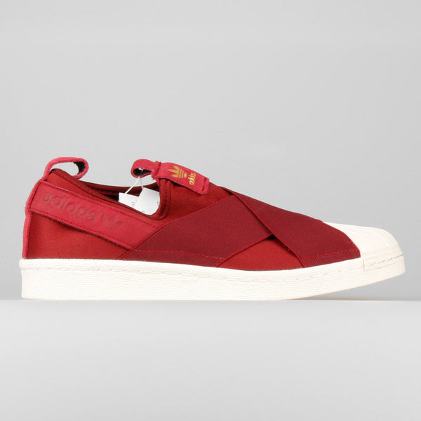 low priced f1a00 7bd4e adidas Superstar Slip On W Maroon