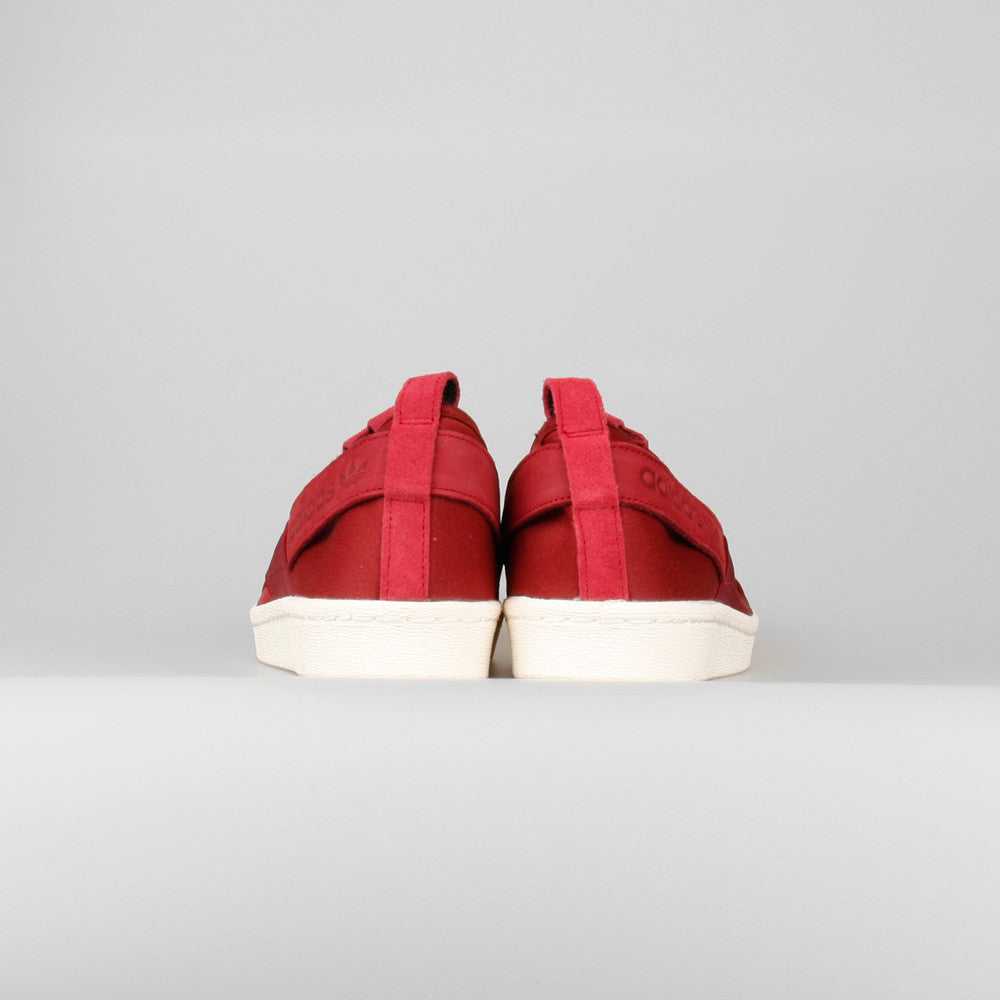 Adidas Superstar Slip On Burgundy ballinteerbandb.co.uk
