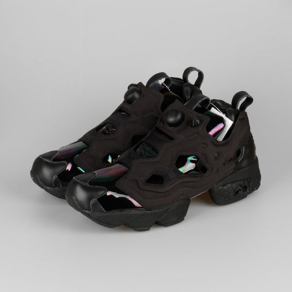 sandro x reebok insta pump fury black hologram v63474 kix files. Black Bedroom Furniture Sets. Home Design Ideas