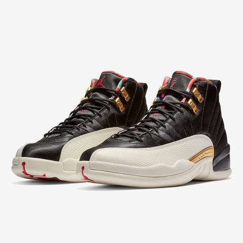 best sneakers 4efae ec4d0 Nike Air Jordan 12 Retro (GS) Year Of The Pig 2019 (BQ6497-