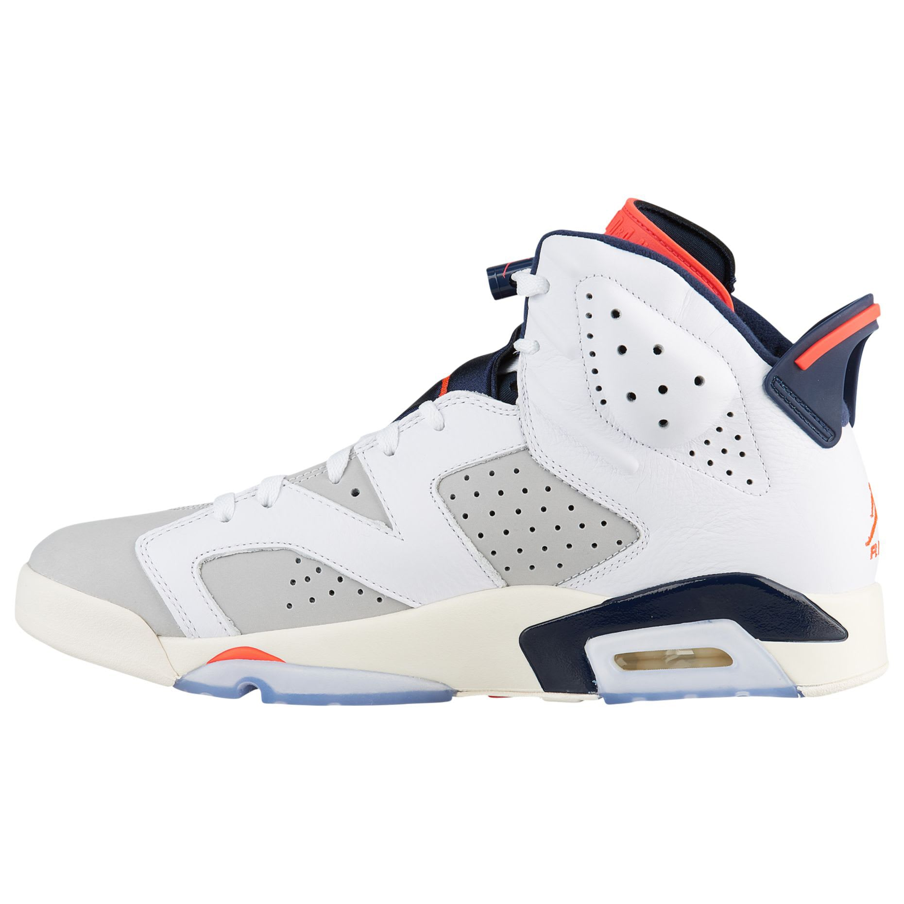 premium selection 1a68c 74700 Nike AIR JORDAN 6 RETRO WHITE/INFRARED 23-NEUTRAL GREY-WHITE (384664-104)