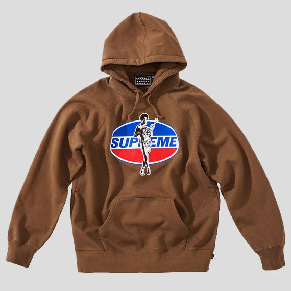 5d9f999d9314 Supreme Hysteric Glamour Hooded Sweatshirt Brown (SUPREME-HYS-BRN ...