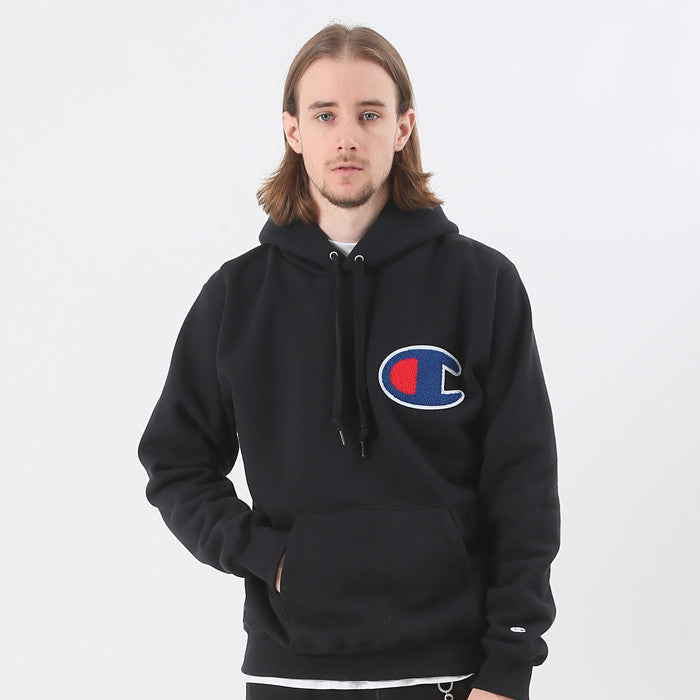 cd9dfac0 Champion JP Big C Hoodie Black