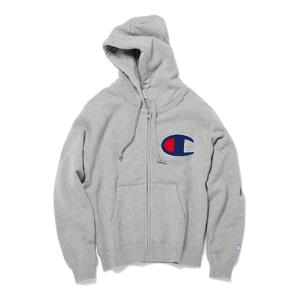 dba057af Champion JP Big C Zip Up Grey (C3-E128-070) | KIX-FILES