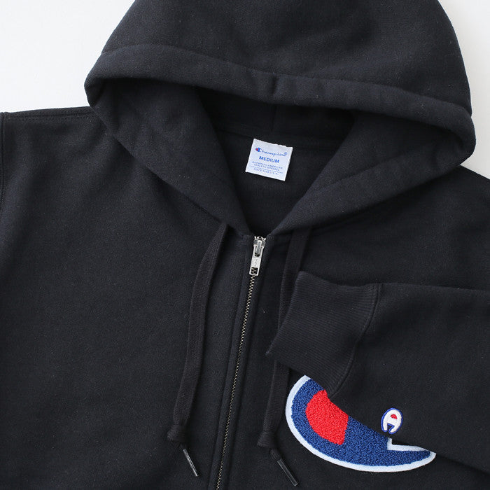 a0aea6b9 Champion JP Big C Zip Up Black