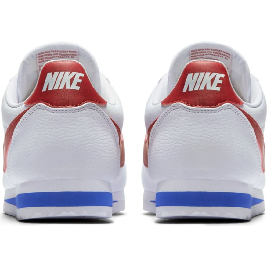 newest 36fc8 f004a NIKE CLASSIC CORTEZ LEATHER WHITE/VARSITY RED-VARSITY ROYAL