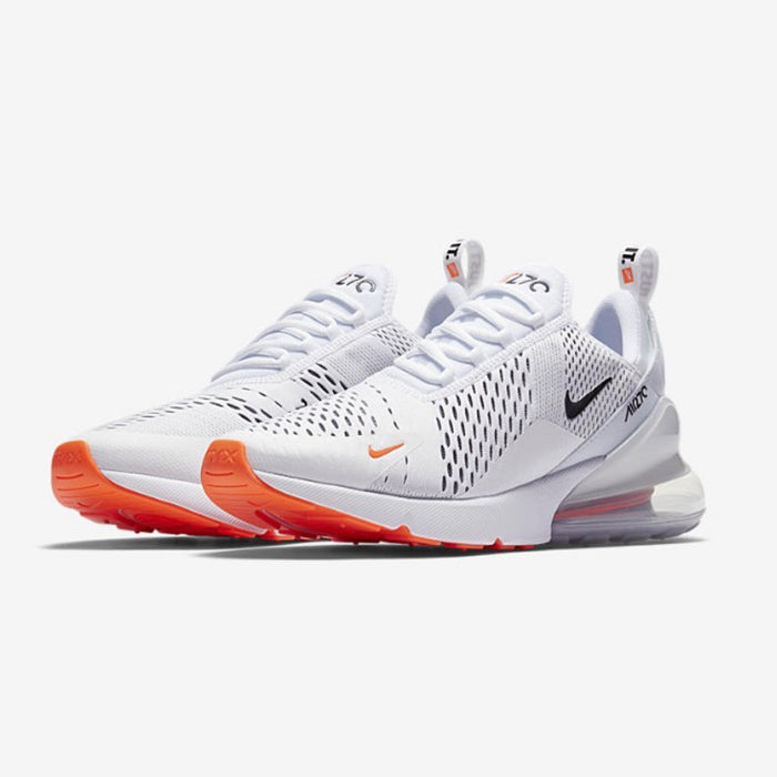 e7b44f95549 Nike AIR MAX 270 Just Do It Pack WHITE BLACK-TOTAL ORANGE. Item Number   AH8050-106