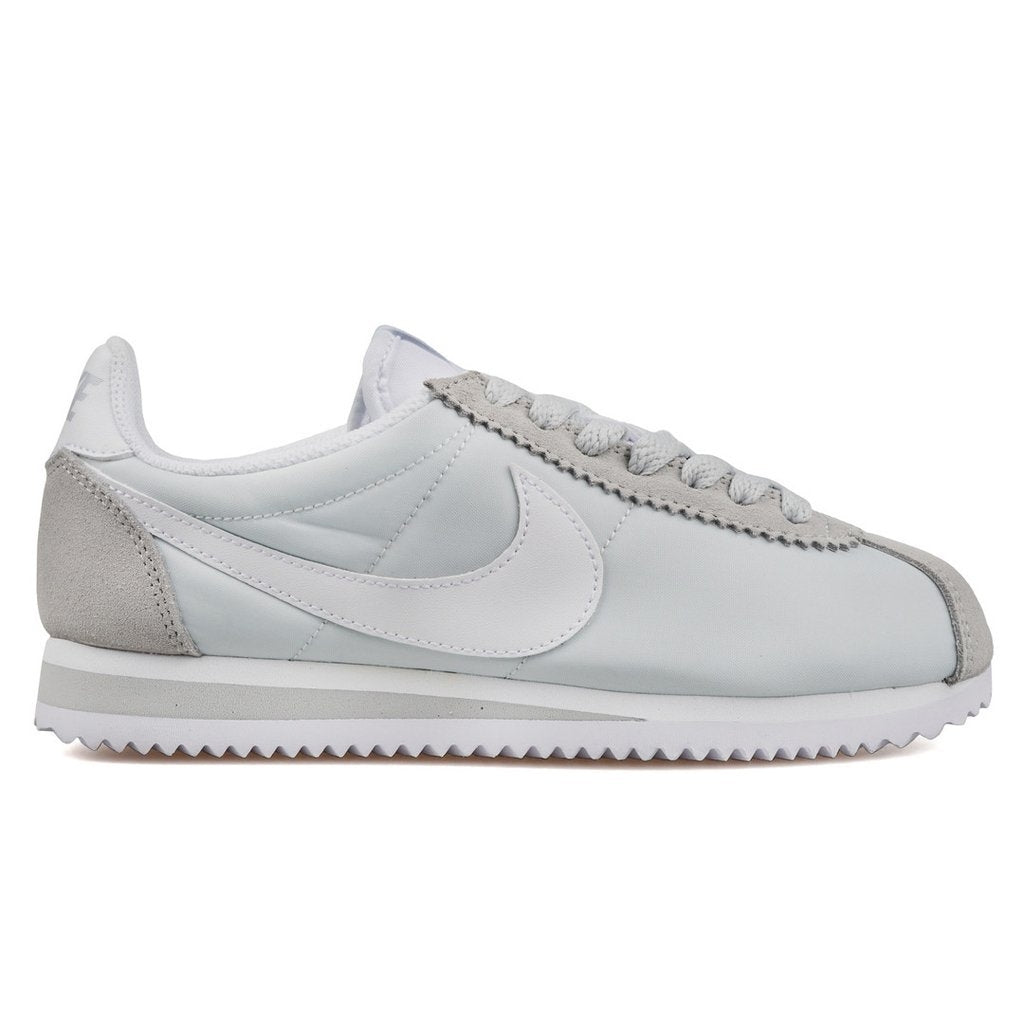 cheap for discount 5bca3 89b1c Nike Wmns Classic Cortez 15 Nylon Pure PlatinumWhite (749864-010)   KIX-FILES
