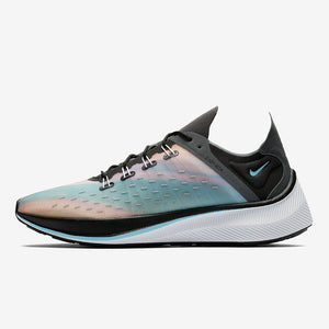 NIKE EXP-X14 QS BLACK/WOLF GREY-DARK GREY-BLUE CHILL