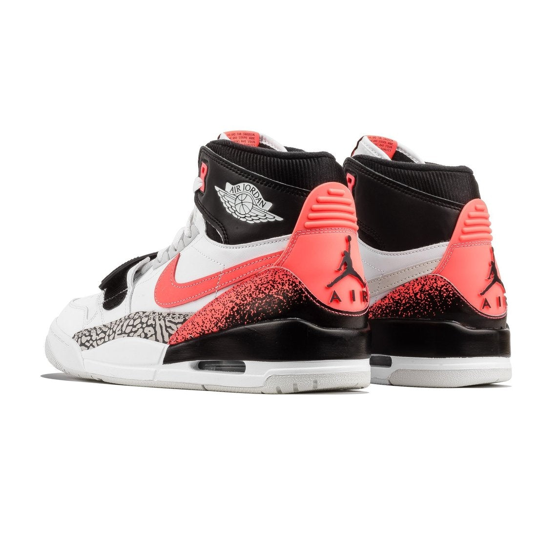 b1ab33c7263b Nike Air Jordan LEGACY 312 NRG by Just Don WHITE HOT LAVA-BLACK-ZEN GREY