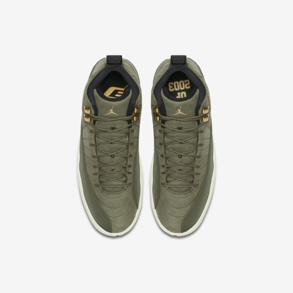 e44768ba4c67be Nike Air Jordan 12 Retro (GS) OLIVE CANVAS METALLIC GOLD-BLACK-SAIL. Item  Number  153265-301