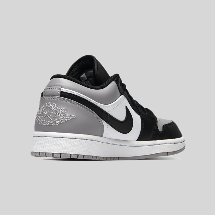 6121b07f582 Nike AIR JORDAN 1 LOW White Atmosphere Grey-Black. Item Number: 553558-110