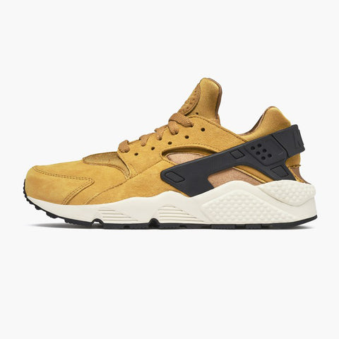 d3ee2dcaab2f Nike AIR HUARACHE RUN PRM Wheat Black Light Bone Ale Bro (704830-700)